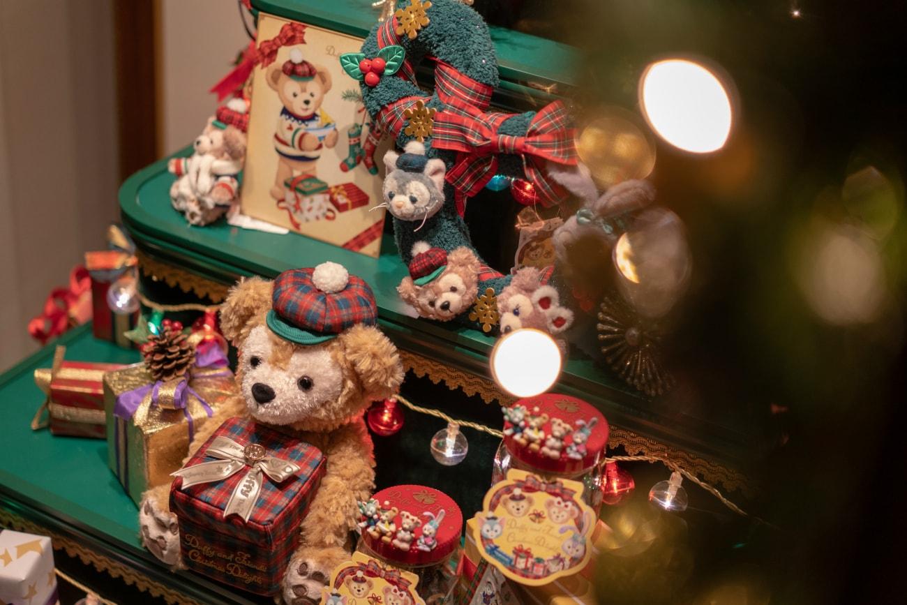 クリスマス仕様のダッフィー