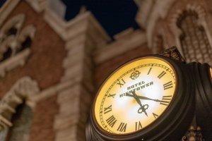 タワー・オブ・テラーの時計